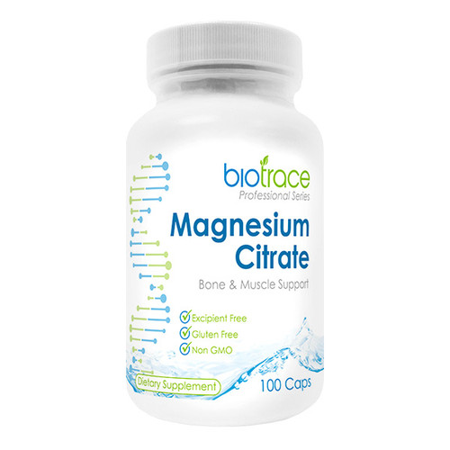 Magnesium Citrate - Bone & Muscle Support