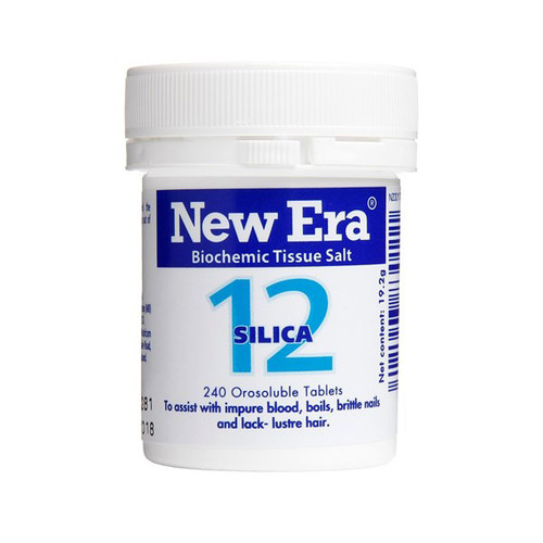 No.12 Silica - The tissue strengthener
