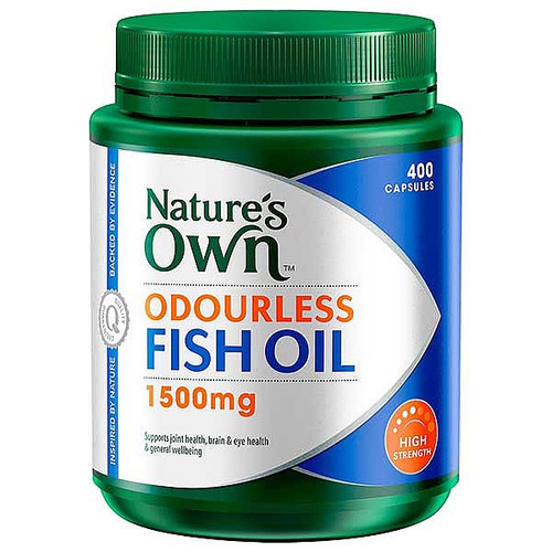 Odourless Fish Oil 1500mg