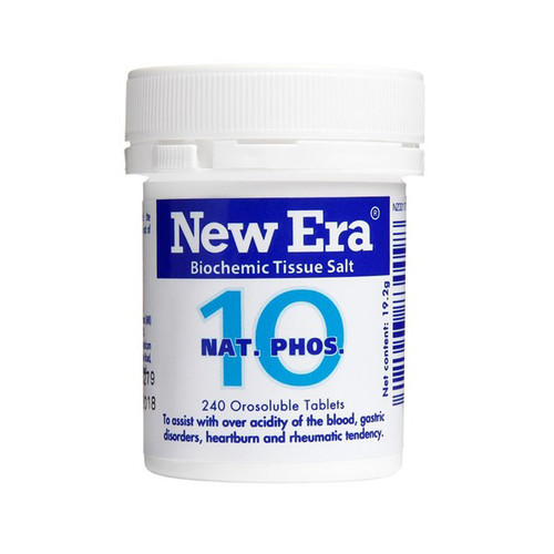 No.10 Nat Phos - Natural antacid