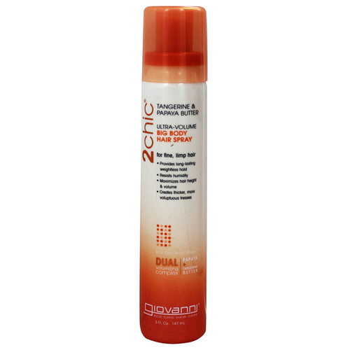 Ultra-Volume Hair Spray Tangerine & Papaya