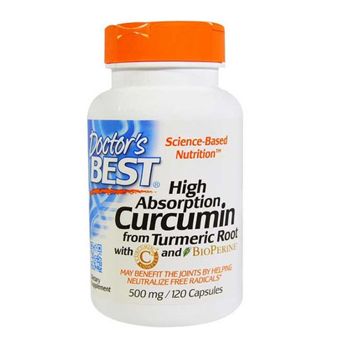 High Absorption Curcumin C with BioPerine 500mg