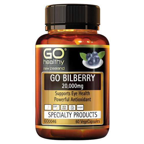 Go Bilberry 20,000mg