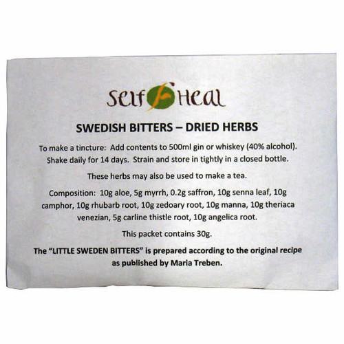 Swedish Bitters Herbs