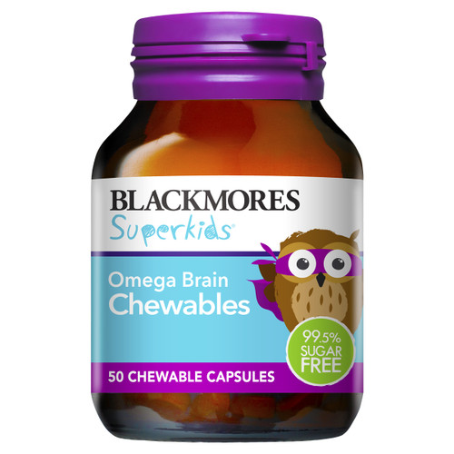 Superkids Omega Brain Chewables