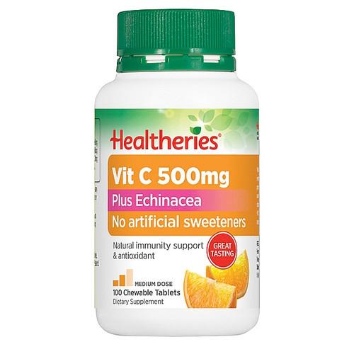 Vitamin C 500mg & Echinacea