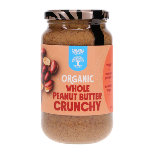 Organic Whole Peanut Butter - Crunchy