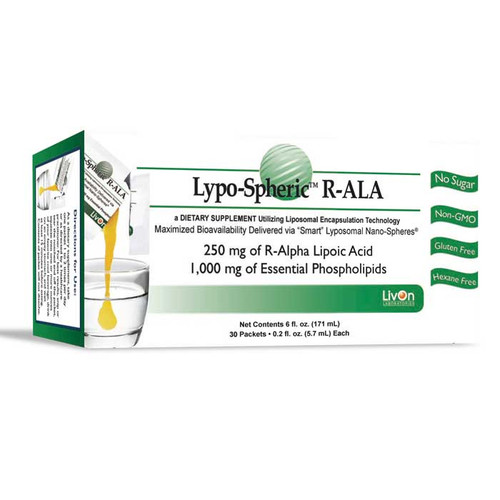 Lypo-Spheric Lipoic Acid 250mg