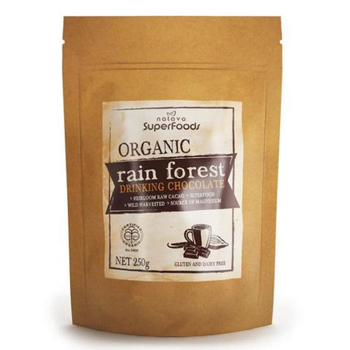 Certified Organic Rain Forest Drinking Chocolate