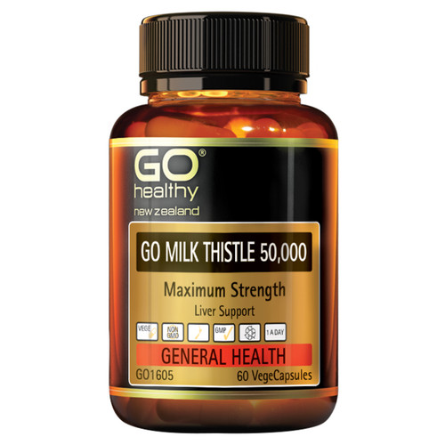 Go Milk Thistle 50,000mg Maximum Strength
