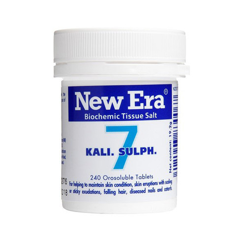 No.7 Kali Sulph - The healer
