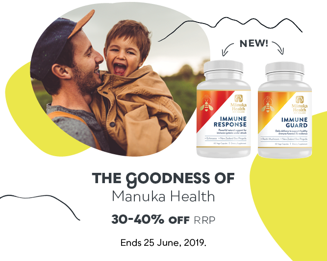 Manuka Health Sale - Save 30-40% off RRP