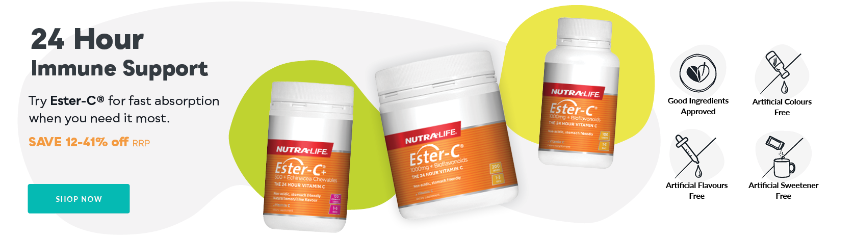 Nutra-Life Immune Support Sale - Save 12-41% off RRP