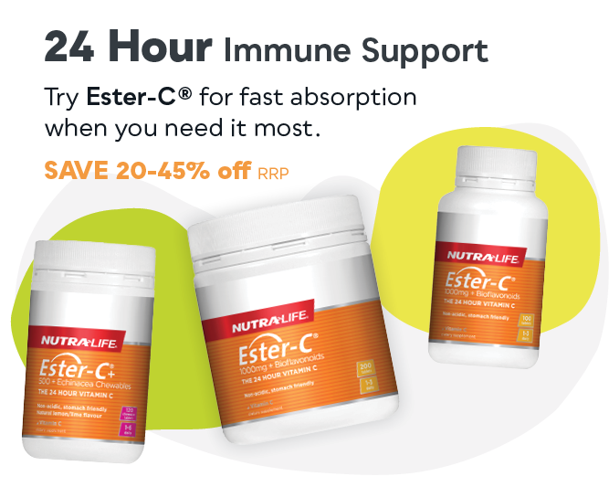 Nutra-Life Immune Support Sale - Save 20-45% off RRP