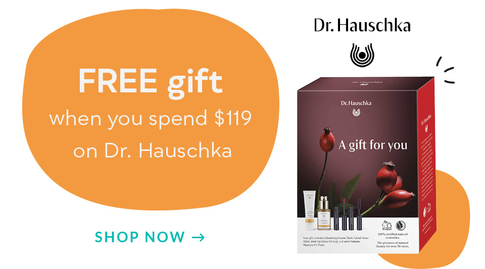 Homepgae Deals - Dr Hauschka Gift with Purchase