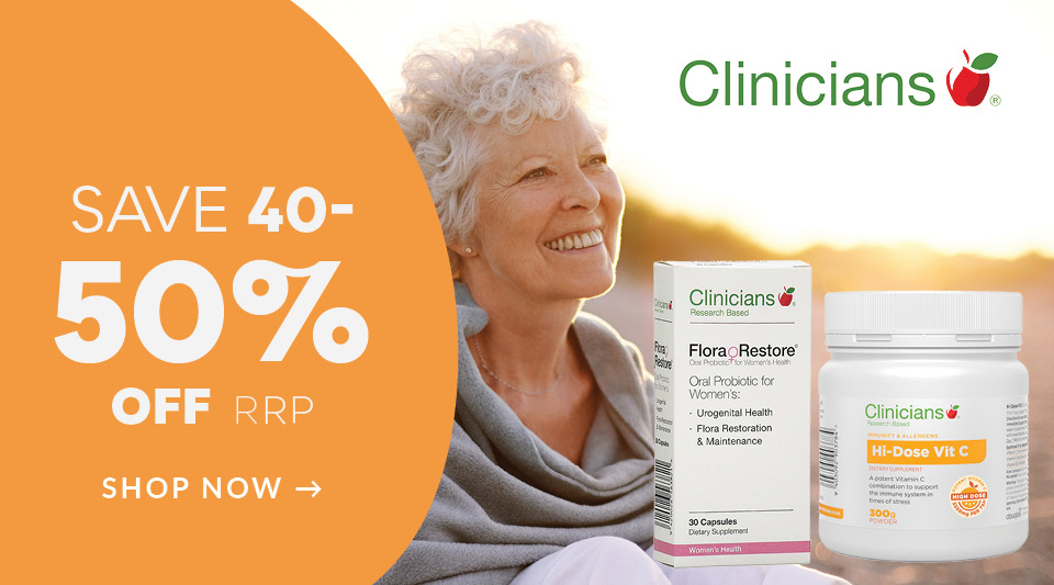 Homepgae Deals - Better You Sale Clinicians Discount off RRP
