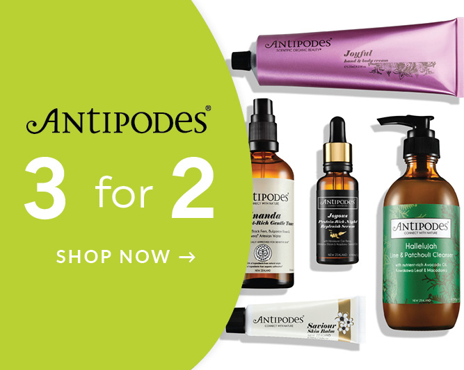 Better You Sale Antipodes 3 for 2