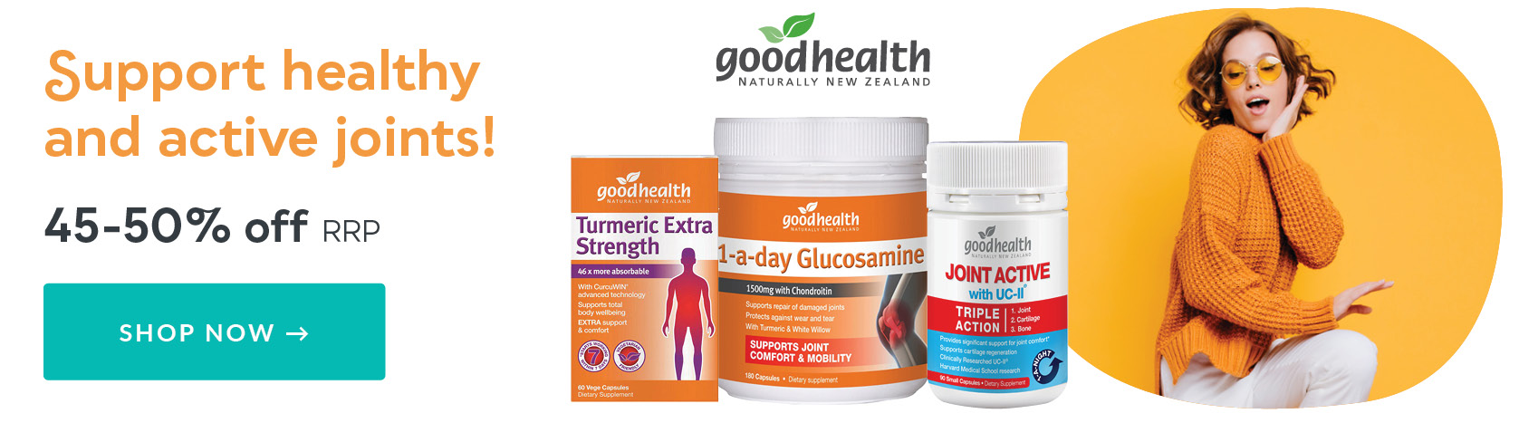 Good Health Save 45-50% Off RRP