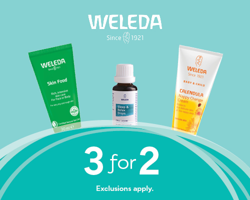 Homepage Deals - Weleda 3 For 2
