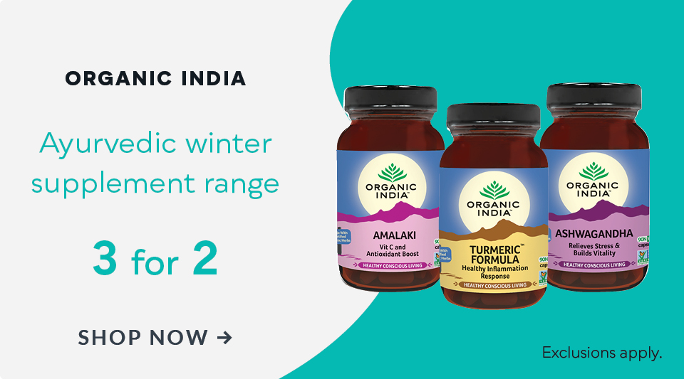 Organic India Winter Range 3 For 2