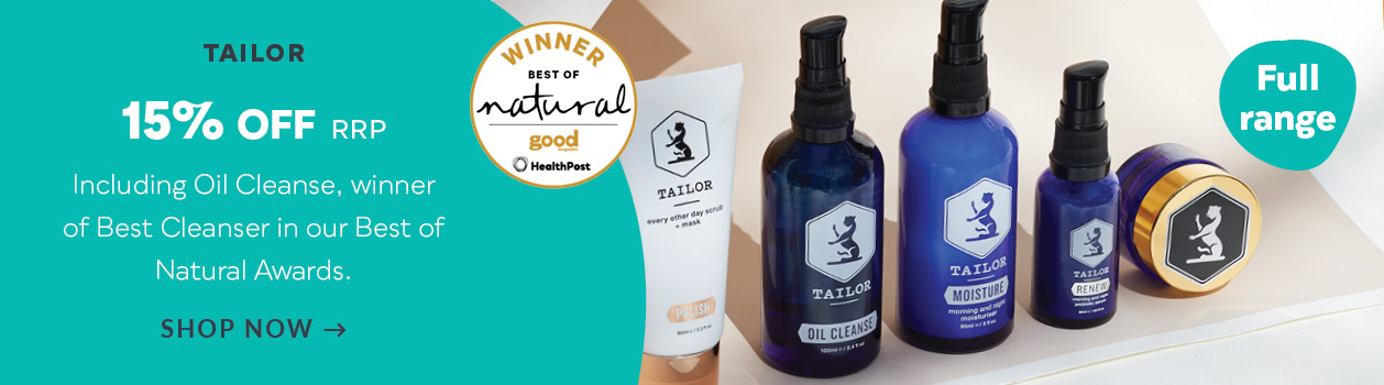 Tailor Skincare Discount off RRP