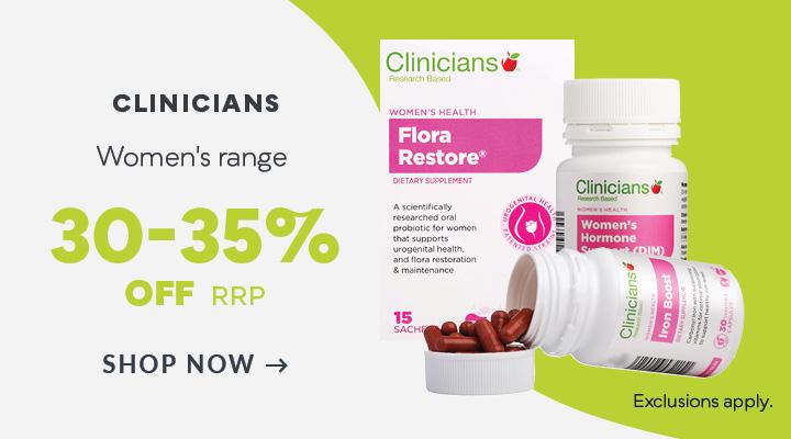 Clinicians Women's Range Discount Off RRP