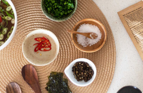 Spices, Seasoning & Salt