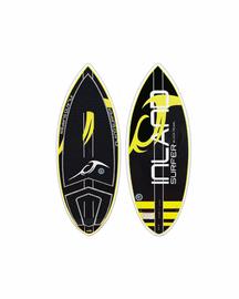 Inland Surfer Black Pearl Skimboard Waksurfer