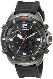 Freestyle Men's Precision 2.0 Japanese Quartz Black Watch