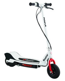 E200 Electric scooter white/red