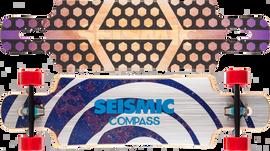 Seismic Compass 36″ x 9.25″