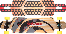 Seismic Compass 39.5″ x 9.5″ Deck Only