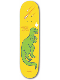Vapeem Yellow Enjoi Deck 8.75