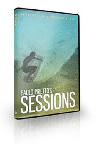 Paulo Prietto's Sessions How to Skimboard DVD