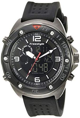 Freestyle Men's Precision 2.0 Japanese Quartz Black Watch