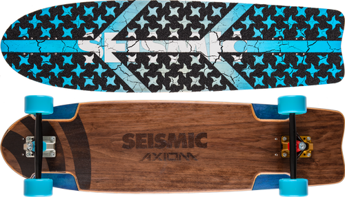 Seismic Axiom 36.25″ x 9.75″ Complete