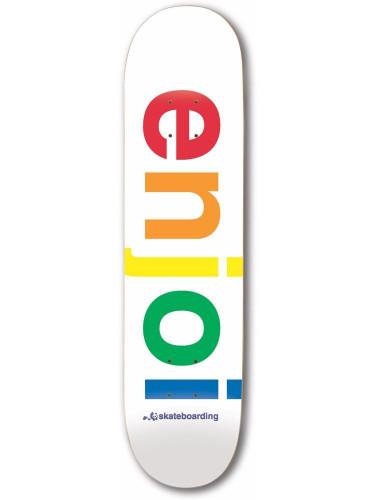 Spectrum White Enjoi Deck 9.0
