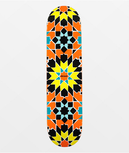 "Almost Tile Pattern 7.75"" Skateboard Deck"
