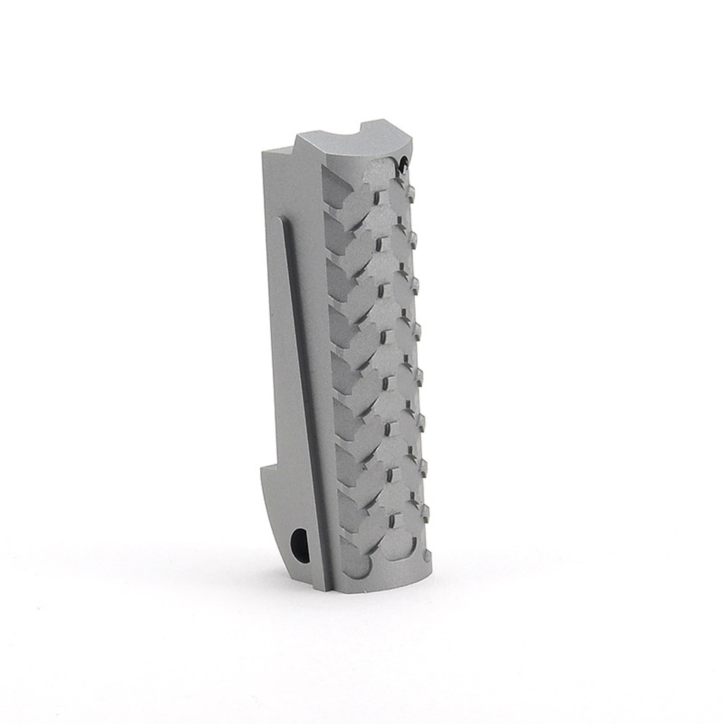 E2 Mainspring Housing Standard Texture - Aluminum