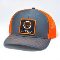 CCG Patch Hat - Charcoal / Orange