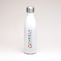 Stainless Water Bottle - White