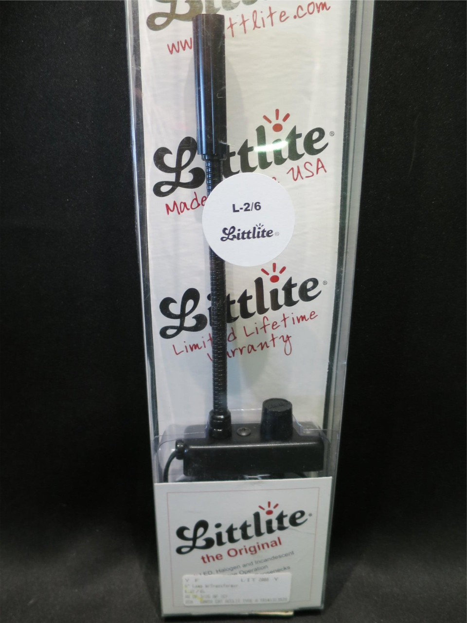 Littlite L-2/6 6-inch Low Intensity Permanent Mount Gooseneck Lamp