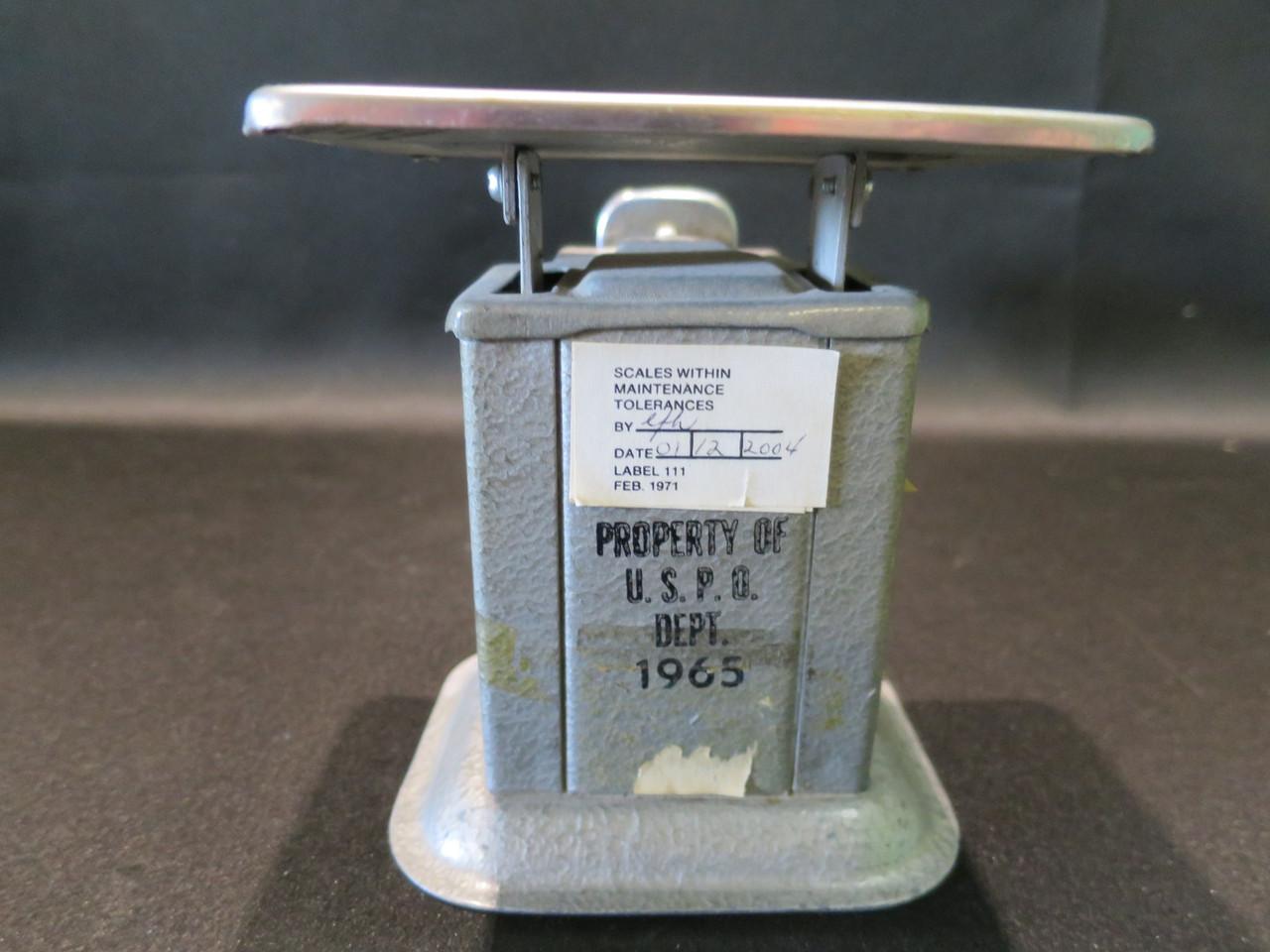 Vintage 1965 Triner 16oz Beam Scale