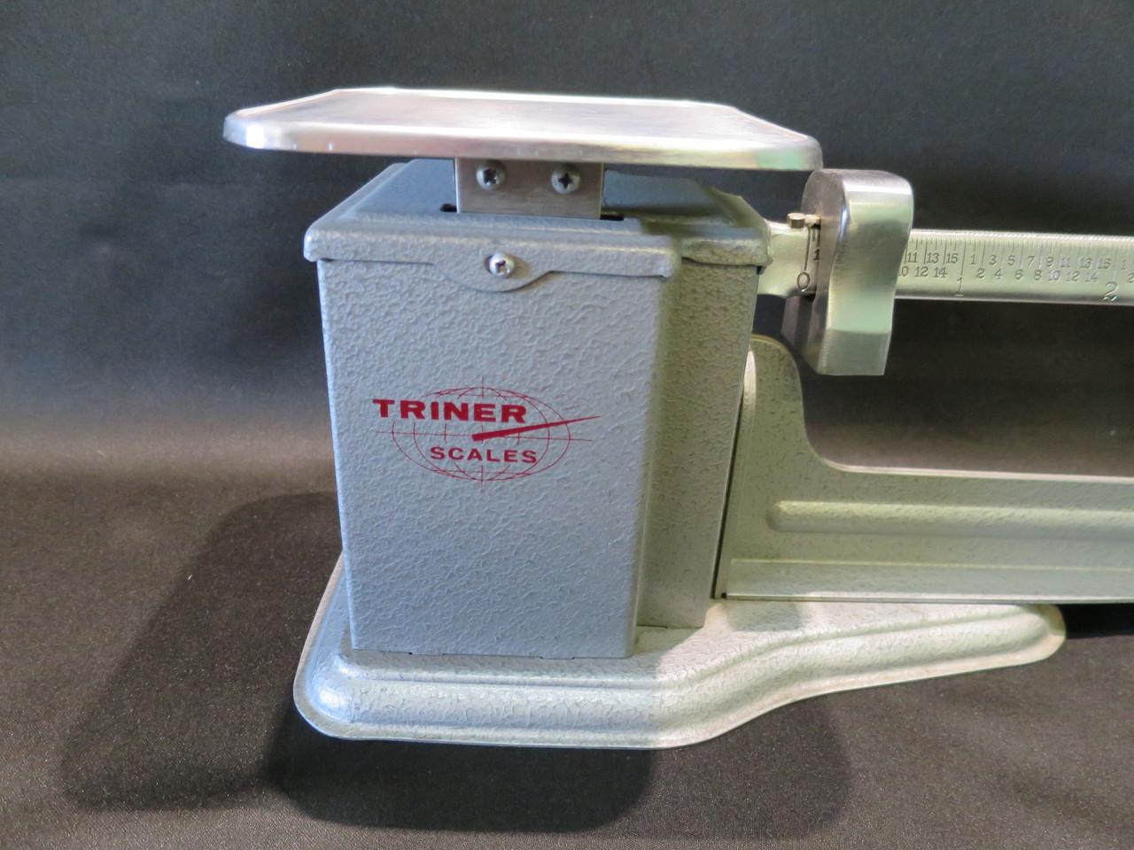 Vintage 1972 Triner 4lb Beam Scale