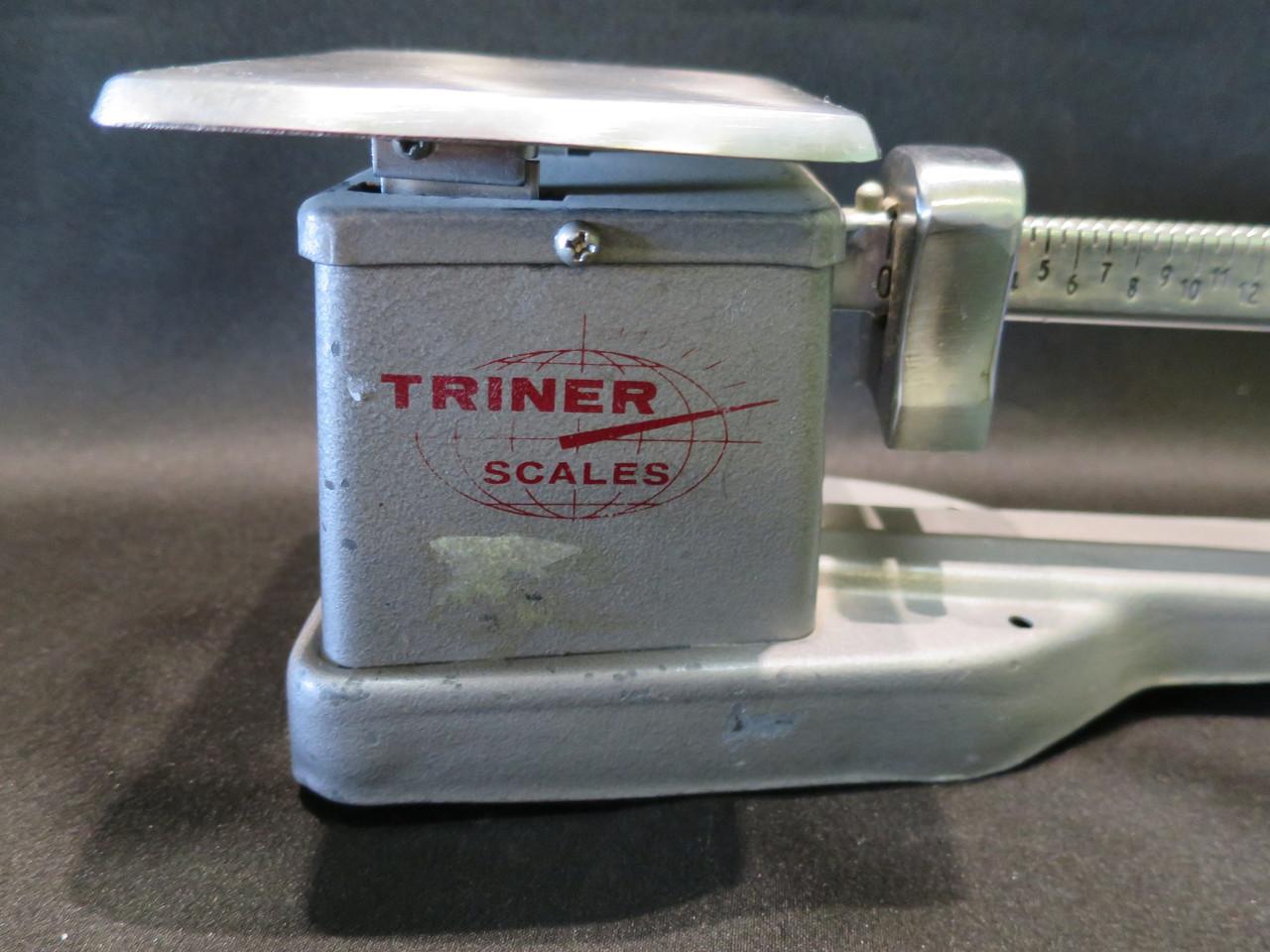 Vintage 1974 Triner 16oz Beam Scale