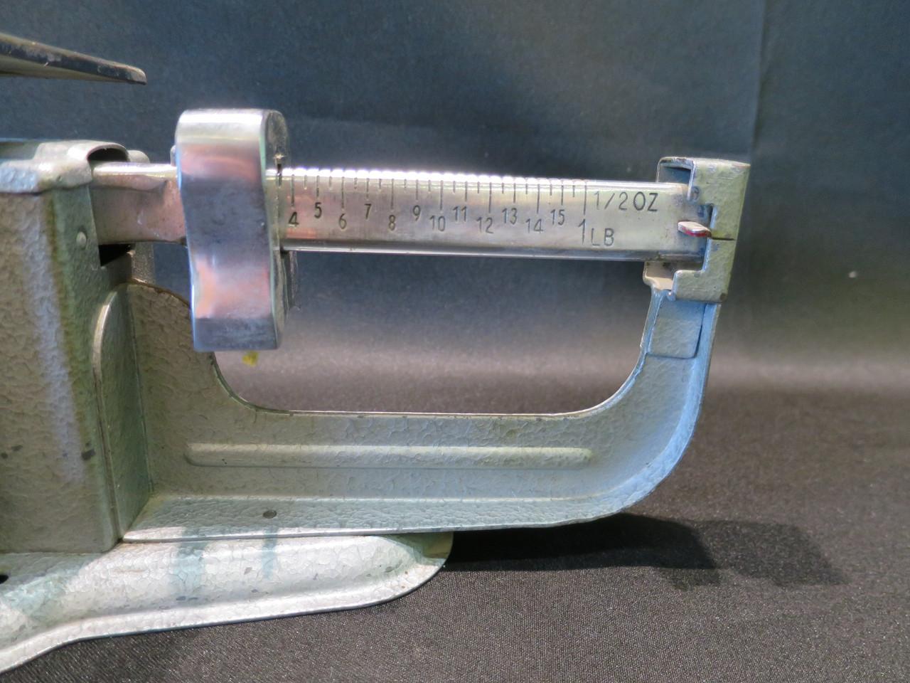 Vintage 1965 Triner 16oz Beam Scale #2