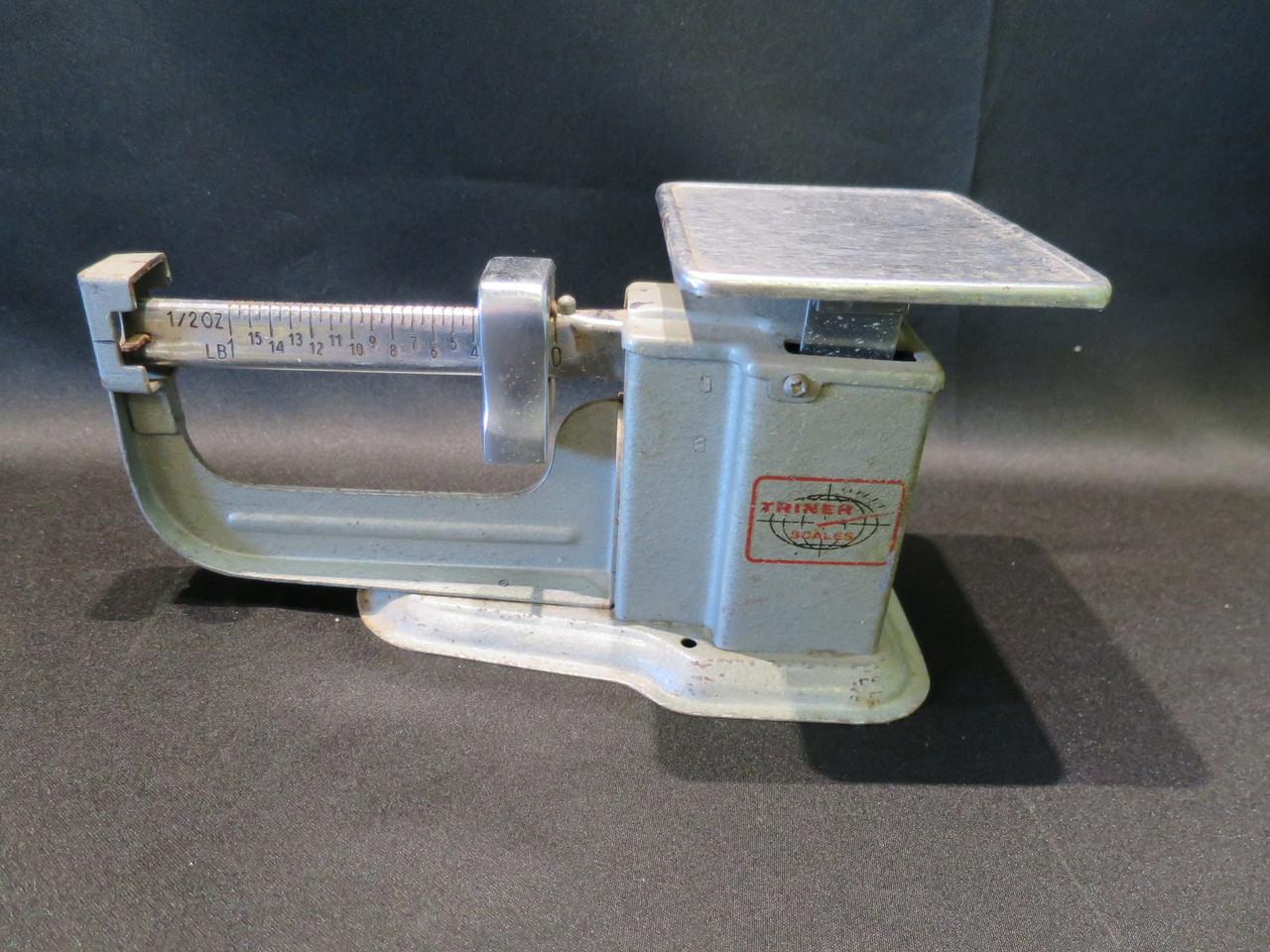 Vintage 1967 Triner 16oz Beam Scale #2