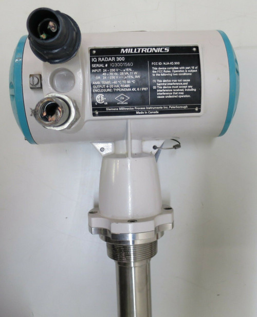 Milltronics IQ300  Level Transmitter Process Control IQ Radar 300