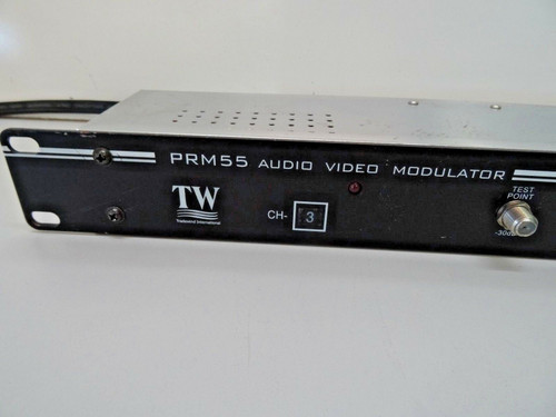 TRADEWIND INTERNATIONAL RACK MOUNT PRM55 AUDIO VIDEO MODULATOR