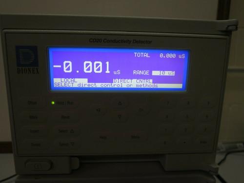 CO2 Conductivity Detector With GP40-1 Gradient Pump - Dionex CD20-1